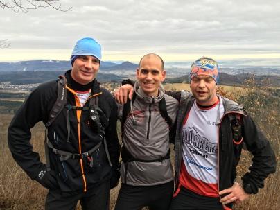 Die Guides: Andreas Legnaro, Timo Zeiler, Carsten Heinz