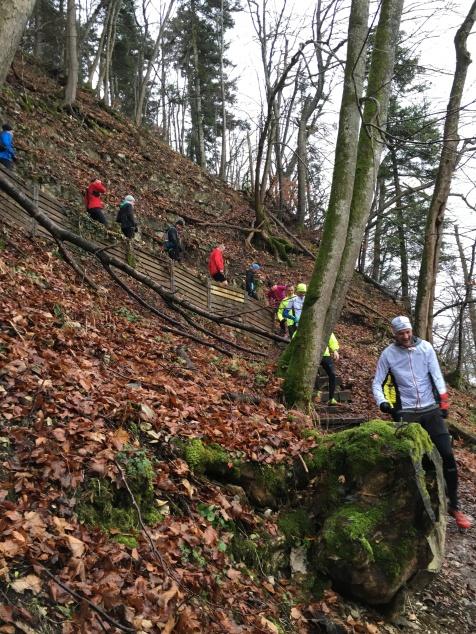 technischer Downhill