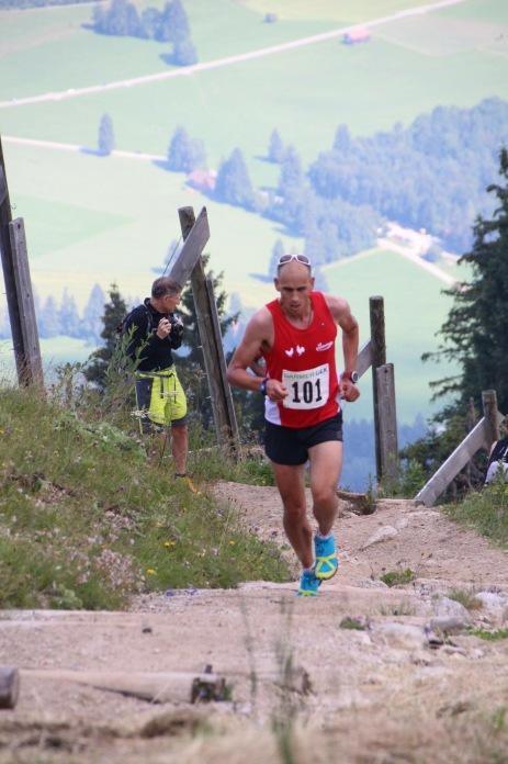 ca 500 m bis zum Ziel (Photo Berglaufteam Deutschland)