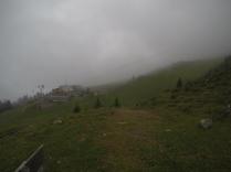 Im Skigebiet Lenzerheide